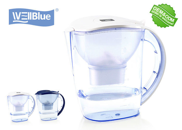 Desk Top 3.5L Maxtra Water Pitcher With Activated Carbon Filter Increases PH